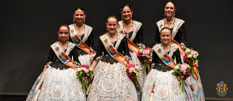 Proclamación Reinas y Damas 2016