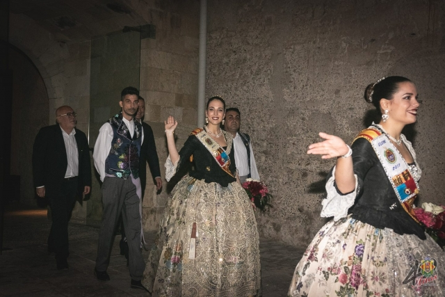 Elección Reinas y Damas de las Fiestas de Elche 2018 - Patio de armas