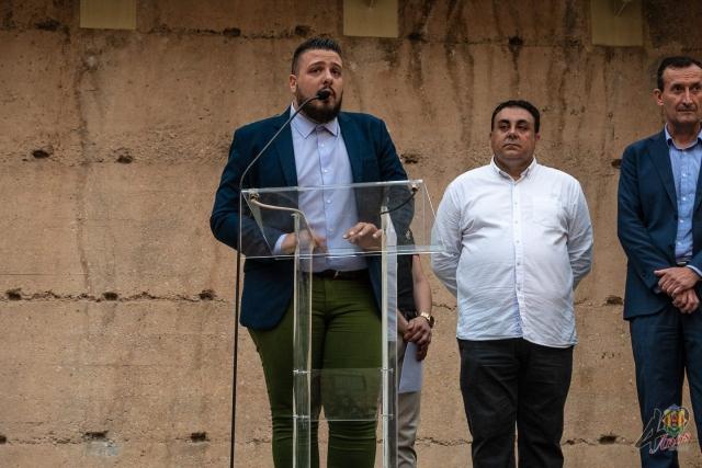 Presentación Cartel de Fiestas, Cridà a la festa y Mascletà nocturna vertical