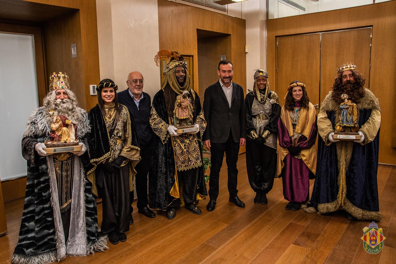Recepción Reyes Magos en el Ayuntamiento