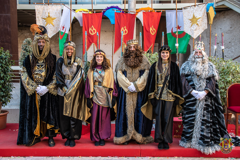 Recepción Reyes Magos en el Castillo de Altamira