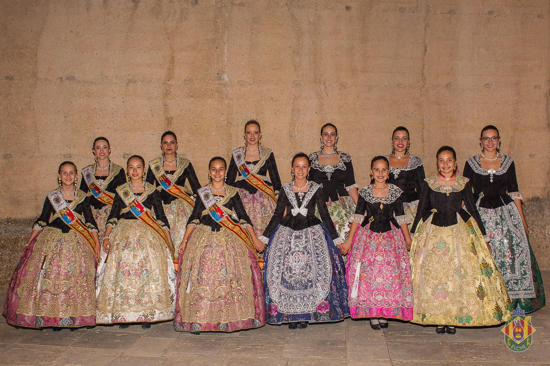 Galería Elección Reinas y Damas de las Fiestas de Elche 2019 – Patio de armas